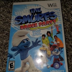 Wii Smurf Dancing game